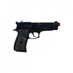 Pistola policia 8 tiros...