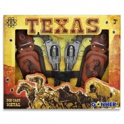 2 Revolver pistoleros Oeste...