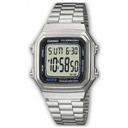 Reloj casio A178WEA-1A plateado