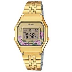 Reloj casio dorado señora LA680WEGA-9C