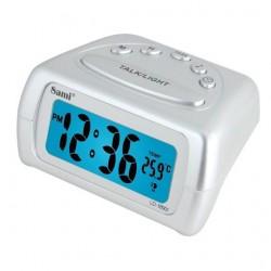 Despertador parlante Sami Blanco 9x8x5cm LD12501