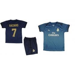 Equipación Ronaldo Real Madrid niño camiseta pantalón tallas 2 a 14