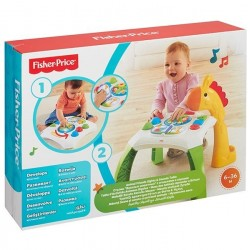 Fisher-Price Manta Gimnasio musical Monitos divertidos Edad +0 años