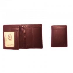 Cartera billetera piel marrón J.Ponce España