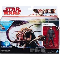 Figura Kylo Ren Star Wars sin máscara 15cm Hasbro