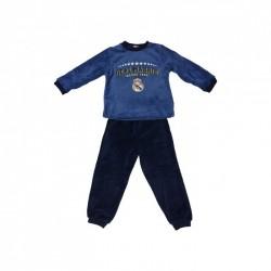 Pijama Real Madrid niño invierno Coral Tallas 6 a 16