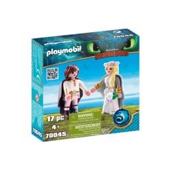 Playmobil 70045 *Hipo y Astrid