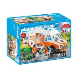 Playmobil 70049 Ambulancia...