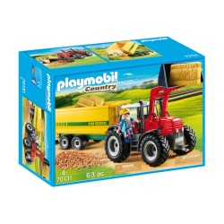 Playmobil 70131 Tractor con...