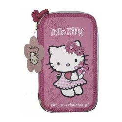 Estuche Plumier Hello Kitty 2 pisos