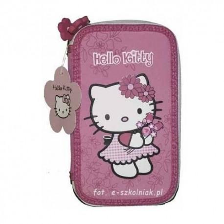 Estuche Plumier Hello Kitty 2 pisos