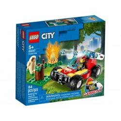 Lego City Fire Incendio en el Bosque 60247