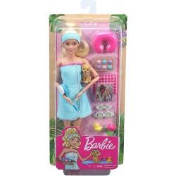 Barbie bienestar un día en el SPA rubia
