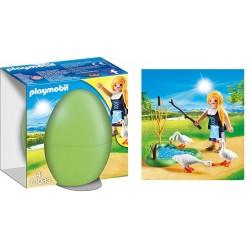 Playmobil 70083 Doncella con Gansos