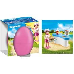 Playmobil 70084 Camarera con Mostrador