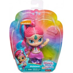 Muñeca Shimmer arcoiris de Shimmer y Shine de Fisher-Price