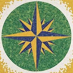 Kit construcción mosaico aves tamaño 30x30cm 4500 piezas aprox fabricado por Aedes Ars 5501