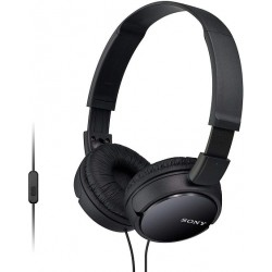 Sony cascos auriculares  MDR-Zx110Apb para Smartphone con micrófono negro