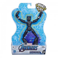 Figura Black Panther Avengers Bend and Flex 15 cm Hasbro