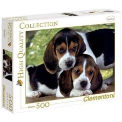 Puzzle 500 piezas cachorros...
