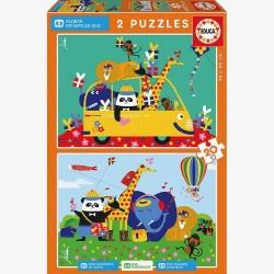 Puzzles animales...