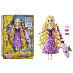 Muñeca Rapunzel rizos enredados princesas Disney