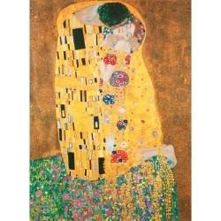 """Puzzle 1000 piezas Klimt: """" El beso """""""