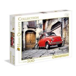 Puzzle 500 piezas Fiat 500