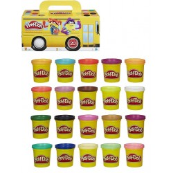 Play-Doh pack super color 20 botes