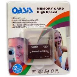 Memory Stick Pro DUO para PSP 2GB