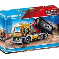 Camión cuba arena descarga playmobil 70444