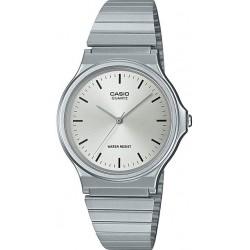 Reloj Casio Caballero MQ-24D-7E metálico plateado