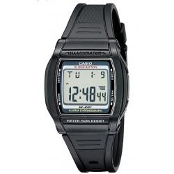 Casio W201-1AV Reloj cronógrafo Resistente al Agua