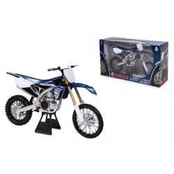 Moto Yamaha YZ450F newray 1:6