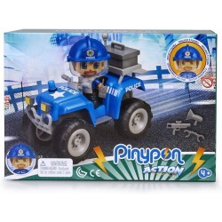 Pinypon Action Quad de policía