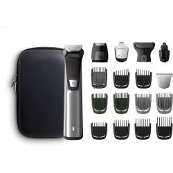 Philips Barbero MG7770/15 Recortador de barba y pelo 18 en 1 tecnología Dualcut autonomía de 120 minutos