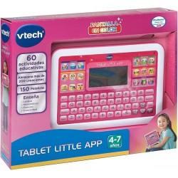 VTech Little App Tableta educativa Infantil Pantalla LCD a Color aprende en casa