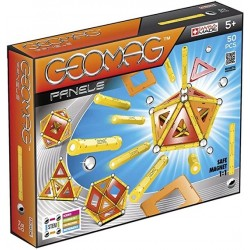 Geomag Classic Panels Juego de Construcción Educativo 50 piezas