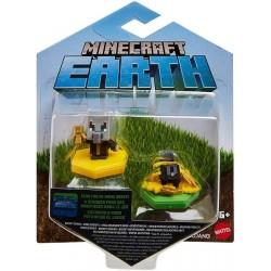 Minecraft Boost Pack de 2 Minifiguras Evoker y Rabbit (Mattel GKT44)