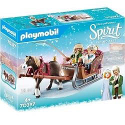 Playmobil 70397 Spirit Paseo en Trineo