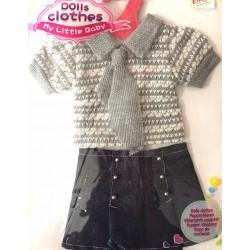 Conjunto ropa para muñecas 38cm aprox