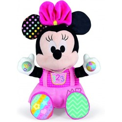 Peluche educativo Baby Minnie Mouse edad +6 meses