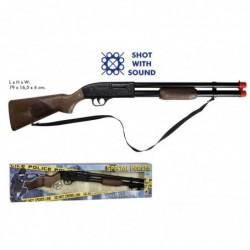 Rifle policía juguete metal...