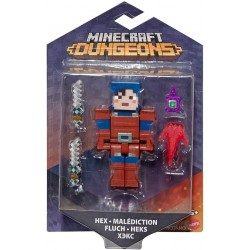 Minecraft Dungeons Figura de Juguete de 8cm Hex Malediction FLuch Heks