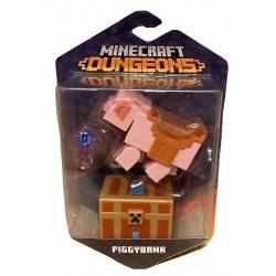 Minecraft Dungeons Figura de Juguete de 6cm Hucha de Cerdito