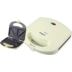 Bastilipo SW-780-A Sandwichera eléctrica para 2 sándwiches 780W con corte