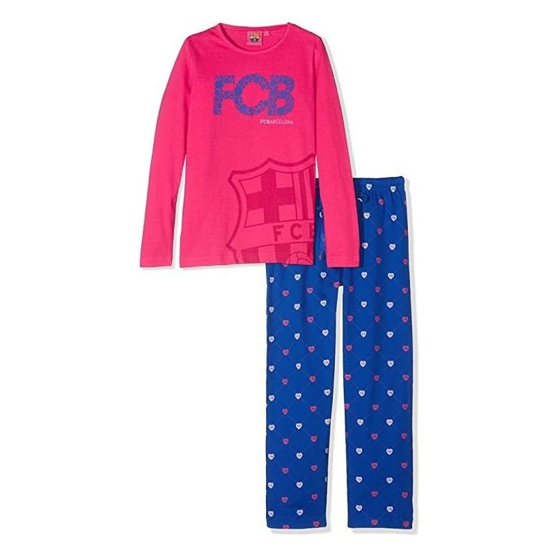 Pijama niño del Fútbol Club Barcelona invierno