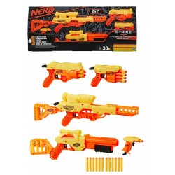 Nerf Alpha Strike Ultimate Mission Pack 5 pistolas con 30 dardos Hasbro