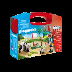 Playmobil 70105 Maletín cuidadora pandas Carrying Cases