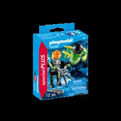 Playmobil 70248 Agente con Dron Special Plus
